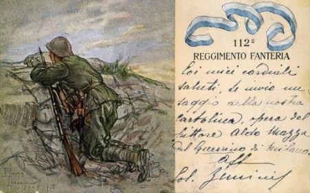 112° Reggimento fanteria
