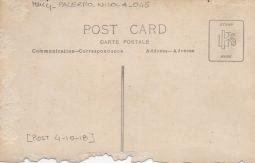 Tomba del Tenente Nicola Palermo morto il 4 ottobre 1918
