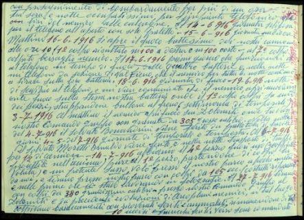Diario di guerra e disegni del soldato Giovanni Maino