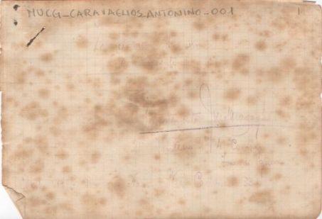 Diario di Antonio Caravaglios
