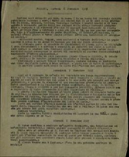 Follina, martedì 6 novembre 1917