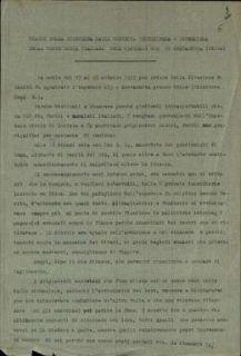 Diario della signorina Maria Concetta Chludzinska infermiera della Croce Rossa Italiana dell'ospedale 019 di Gervasutta