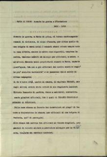 Sunto di sua cronaca, Pavia di Udine durante la guerra e l'invasione 1915-1918