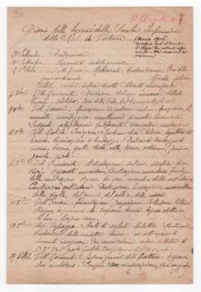 """""""Diario delle lezioni della Scuola Infermiere della C.R.I. di Tortona. Anno 1916""""."""