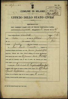 Agostini Aldo, Sovizzo (Vicenza)