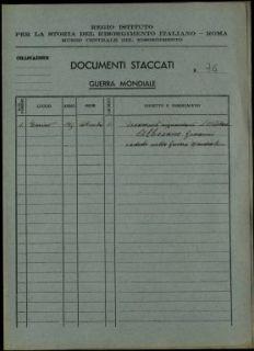 Albesano Giovanni, Bagnasco (Cuneo)