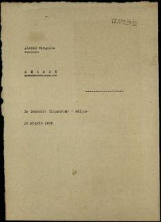 Albini Virgilio, Milano