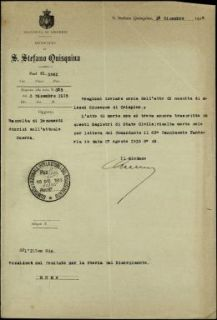 Alessi Giuseppe, S. Stefano Quisquina (Girgenti)