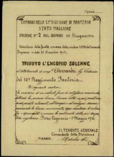 Alessandri Lodovico, Bergamo