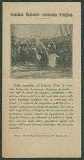 Fede e patriottismo  : l'opera dei comitati assistenza religiosa  / Comitato nazionale assistenza religiosa