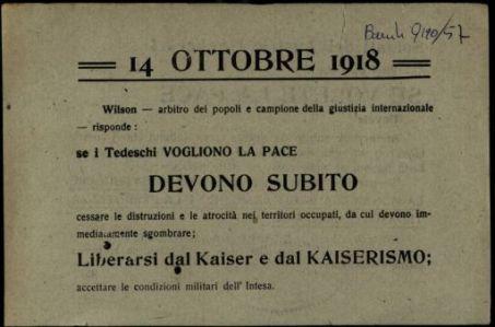 14 ottobre 1918