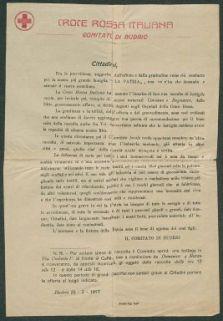 Croce rossa italiana, Comitato di Budrio