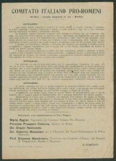 Comitato italiano pro-romeni