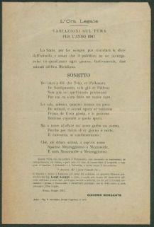 L'ora legale  : variazioni sul tema per l'anno 1917  / Giacomo Morgante