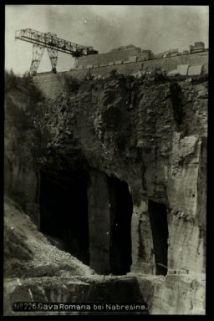 Cava romana bei Nabresina. Fotografia dell'esercito Austro-Ungarico