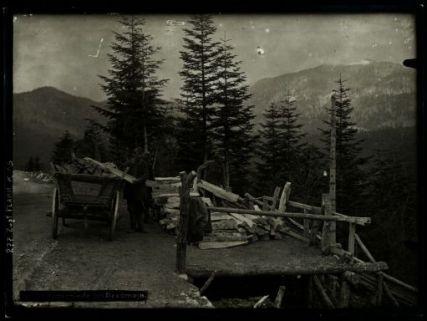 Holzschleife bei Predmeja. Fotografia dell'esercito Austro-Ungarico