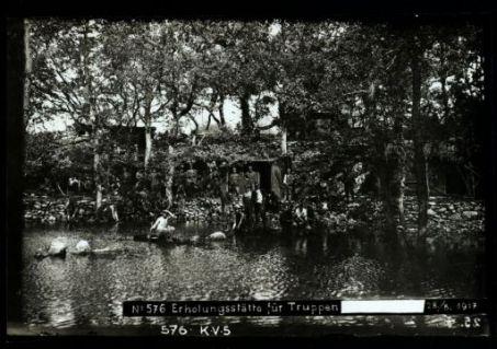 Erholungsstätte für truppen [...]. Fotografia dell'esercito Austro-Ungarico