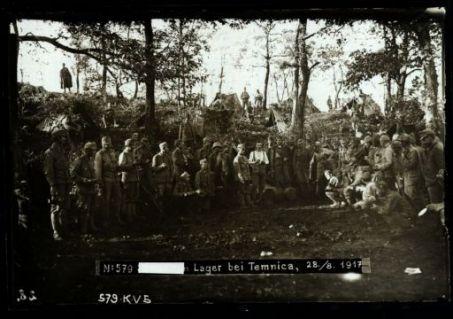[...] lager bei Temnica. Fotografia dell'esercito Austro-Ungarico