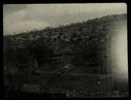 Zerst. lager Medeazza. Fotografia dell'esercito Austro-Ungarico