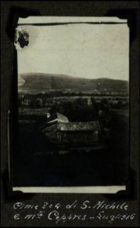 Cime 3 e 4 di S. Michele e monte Ceppres (Luglio 1916)