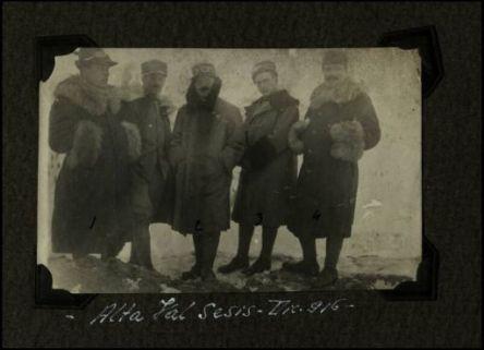 Alta Val Sesis. Dicembre 1916