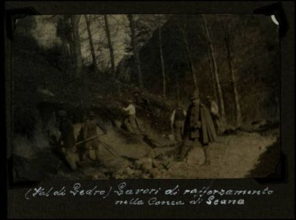 (Val di Ledro), lavori di rafforzamento nella Conca di Leano