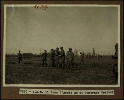 7970 - S.A.R. il Duca d'Aosta ed il generale Petitti