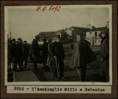 8092 - L'Ammiraglio Millo a Sebenico