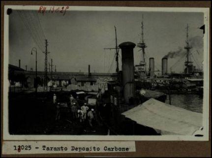 13025 - Taranto. Deposito carbone