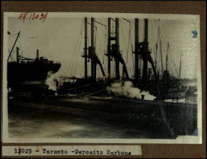 13029 - Taranto. Deposito carbone