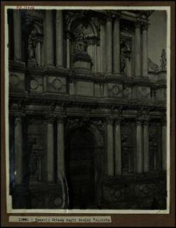 13046 - Venezia. Chiesa degli Scalzi: facciata