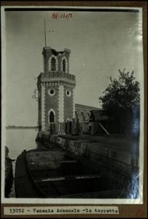 13052 - Venezia. Arsenale: la torretta