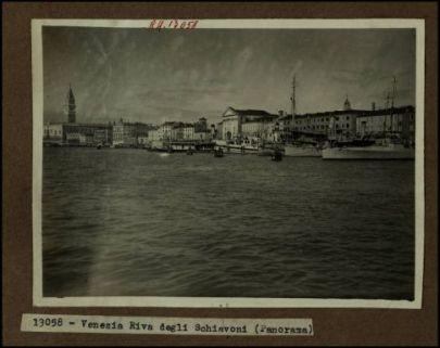 13058 - Venezia. Riva degli Schiavoni (Panorama)