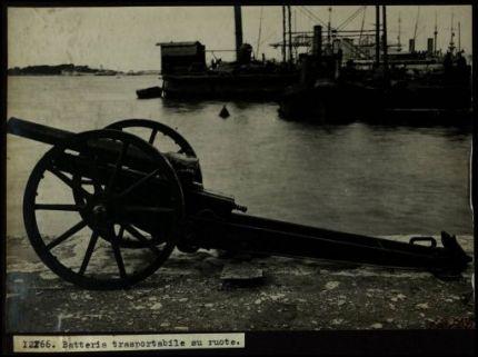 12166. Batteria trasportabile su ruote