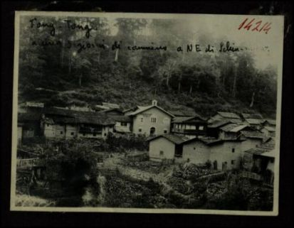 14214. Fong Tong a circa 3 giorni di cammino a NE di Schin-Chow