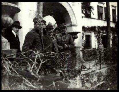 Soldati del 31 Reggimento Artiglieria da campagna a Cividale del Friuli