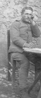 Sebenico: Il soldato Francesco Barbaro, 20 dicembre 1918