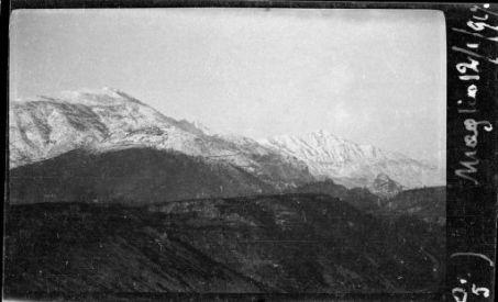 Panorama dal monte Summano al monte Paù