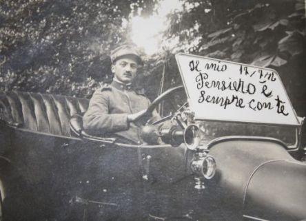 """""""Il mio pensiero è sempre con te : 17/7/1916"""""""