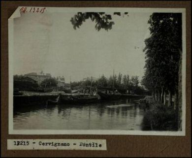 13215 - Cervignano. Pontile