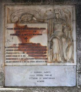 monumento ai caduti, a tempietto