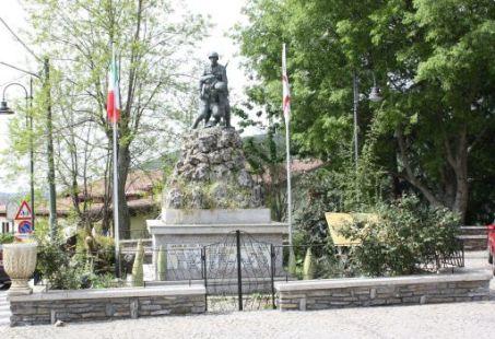 monumento ai caduti, a montagna figurata
