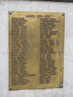 monumento ai caduti, ad altare