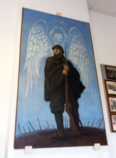 dipinto commemorativo ai caduti