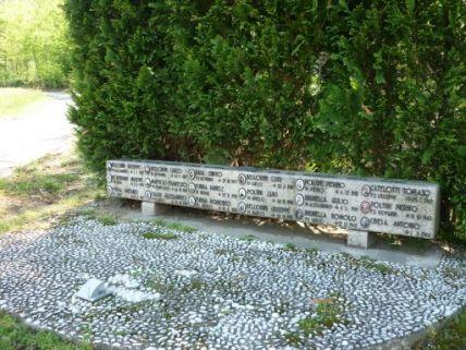 monumento ai caduti, a basamento