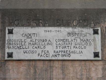 monumento ai caduti, ad ara