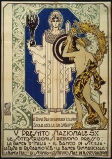 A Roma dea cui rinverdì l'alloro Sicilia reca la sua spiga d'oro  / Bevilacqua