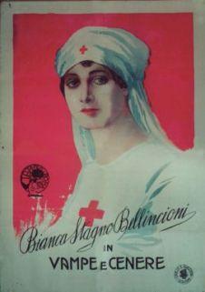 Bianca Stagno Bellincioni in Vampe e cenere