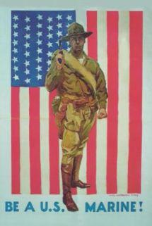 Be a U.S. Marine! / James Montgomery Flagg