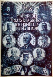 1918, i fattori del trionfo della giustizia per i diritti e la libertà dei popoli / C. Grondona
